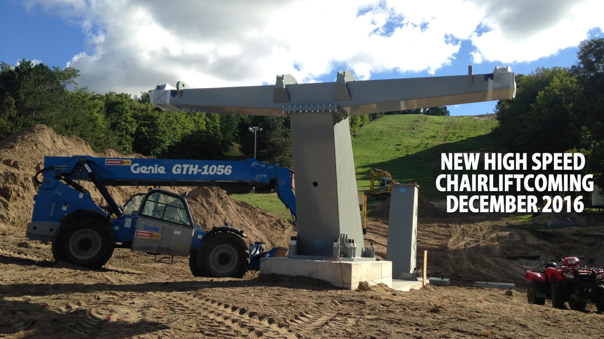 New six-person high speed chairlift coming winter, 2016