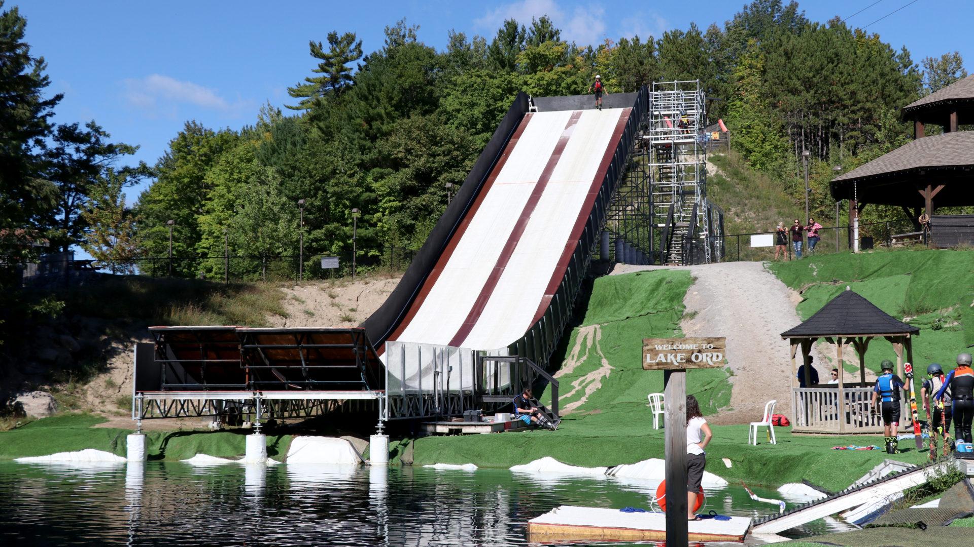 water ramp - horseshoe resort - barrie ontario